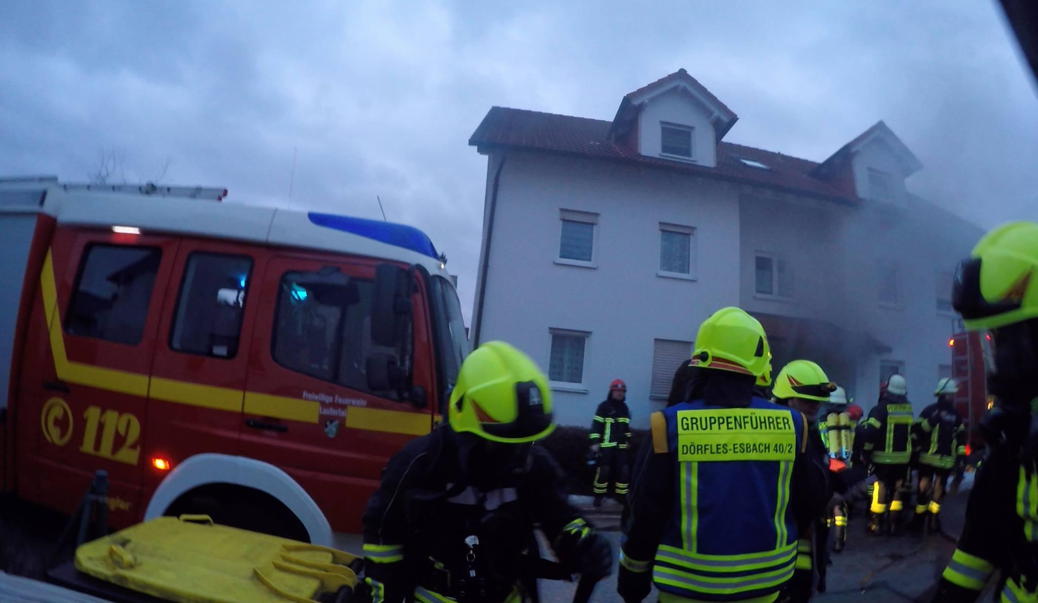 Brand Mehrfamilienhaus