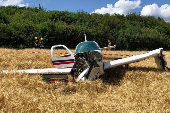 Absturz Kleinflugzeug
